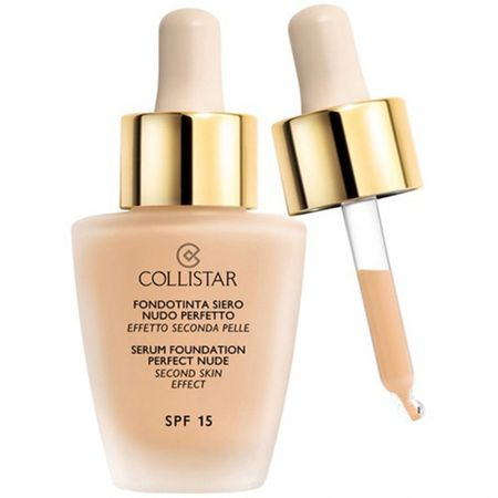 Collistar Tekutý make-up so sérom pre vzhľad nahé pleti (Serum Foundation Perfect Nude) 30 ml (Odtieň 00 Cameo