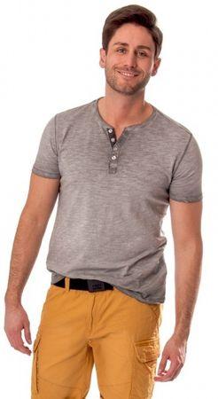 Heavy Tools Pánské triko s krátkým rukávem Milk S17-200 Gray (Velikost M)