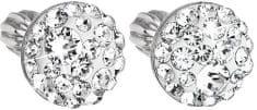 Evolution Group Náušnice s čirými krystaly 31136.1 stříbro 925/1000