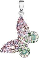 Evolution Group Sakura romantikus pillangó medál 34192.3 ezüst 925/1000