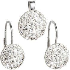 Evolution Group Swarovski kristály ékszer szett39086.1 ezüst 925/1000