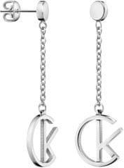 Calvin Klein Luxusní ocelové náušnice League KJ6DME000100