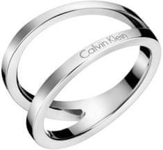 Calvin Klein Luksusowe stalowy pierścień Outline KJ6VMR0001