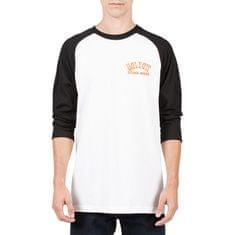 Volcom Pánske tričko Wrecker 3 4 Raglan T A4321703-WHT 88ce4e57296