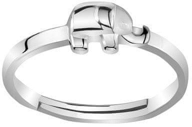 Silvego Stříbrný prsten na nohu Slůně ZTD25260 stříbro 925/1000