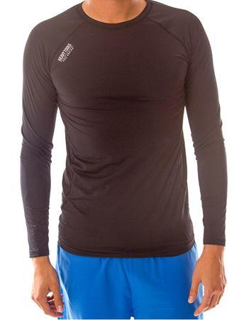 c4d3531d4626 Pánske športové tričko s dlhým rukávom Xigmund S17-511 Black (Veľkosť XL)