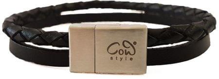 Cow Style Pánsky kožený náramok Nassau CS03-5205-21
