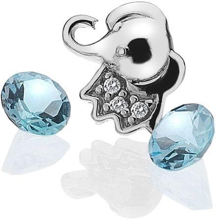 Hot Diamonds Element Sloníča s Topaz EX098 striebro 925/1000