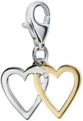 Hot Diamonds Love Luck Happiness medál gyémánttal díszítve DT025 ezüst 925/1000