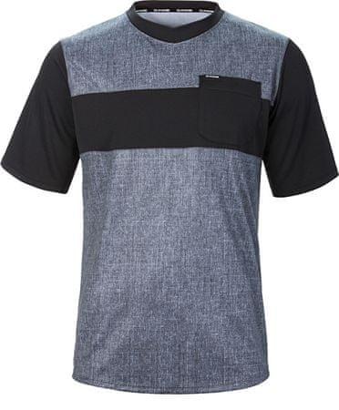 Dakine Pánske tričko Vectra S/S Jersey Carbon/Black 10001000-S17 (Veľkosť M)