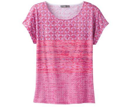 Prana Dámske tričko Harlene Top Cosmo Pink Milos (Veľkosť XS)