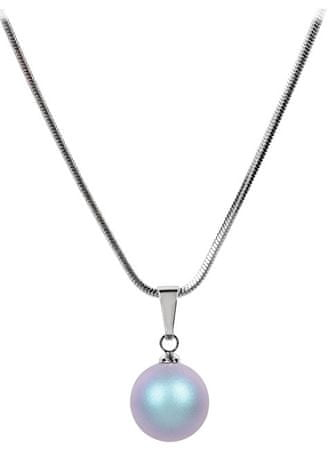 Troli Náhrdelník Pearl Iridescent Light Blue
