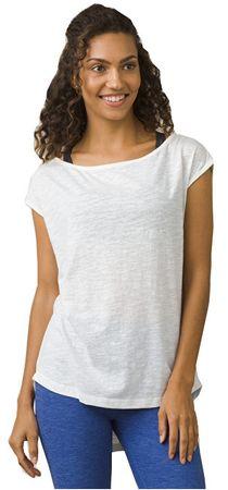 Prana Dámské triko Constance Top White (Velikost S)