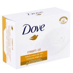 Dove Vyživující krémová tableta s arganovým olejem (Beauty Cream Oil Bar)