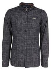 Noize Pánská košile s dlouhým rukávem Navy 4546105-00 7c464f9762