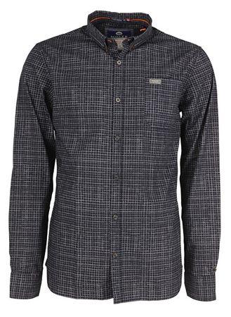 Noize Pánska košeľa s dlhým rukávom Navy 4546105-00 (Veľkosť L)