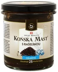 Herbamedicus Koňská mast s rašelinou chladivá 300 ml