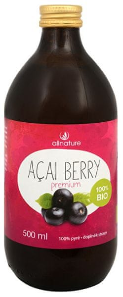 Allnature BIO Acai berry Premium 500 ml