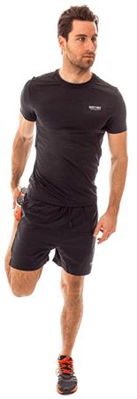 Heavy Tools Pánske športové tričko s krátkym rukávom Xeron S17-510 Black (Veľkosť M)