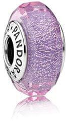 Pandora Elegantní fialový korálek 791651 stříbro 925/1000