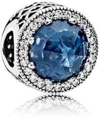 Pandora Luxusní korálek s tmavě modrým krystalem 791725NMB stříbro 925 1000 d590e08bb93