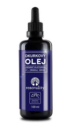 Renovality Okurkový olej za studena lisovaný 100 ml
