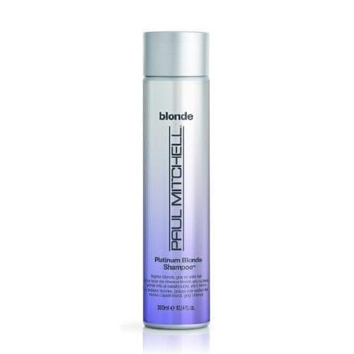 Paul Mitchell Šampon pro zářivé blond vlasy Blonde (Platinum Blonde Shampoo Brightens Blonde, Gray Or White Hair)