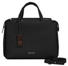 Calvin Klein Kabelka Pebble Duffle Bag Black