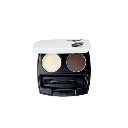 Avon Mark szemöldökformázó készlet (Eye Brown Set) 2,6 g (árnyék Pro brunetky)