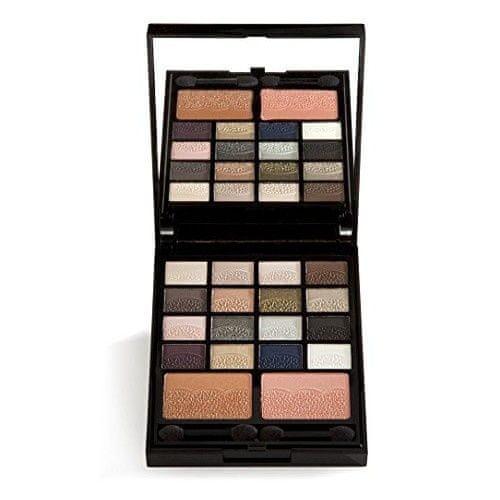 GA-DE Sada pro líčení očí a tváře s reliéfem krajky Lace Make-Up Set