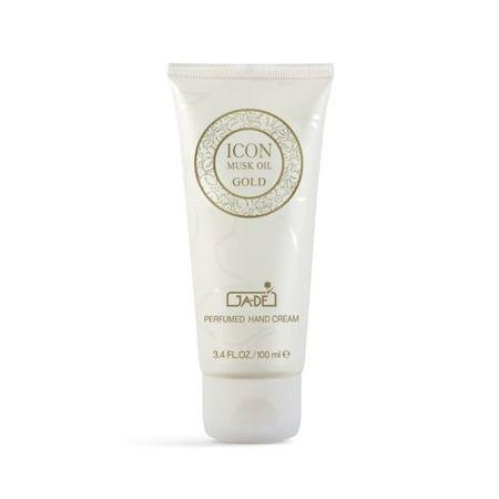 GA-DE Parfumovaný osviežujúci krém na ruky Icon Musk Oil Gold (Hand Cream) 100 ml