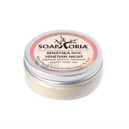 Soaphoria Természetes krém dezodor velencei éj (Organic krém Deo velencei Night) 50 ml