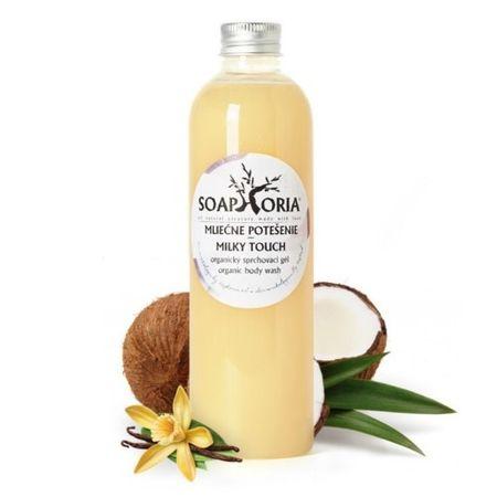 Soaphoria Organický sprchový gél Mliečne potešenie (Organic Body Wash Milky Touch) 250 ml