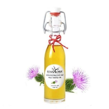 Soaphoria Organický kozmetický olej Ostropestřecový (Milk Thistle Oil) (Objem 50 ml)