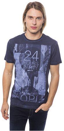 GAS Pánske tričko Blue Shadow 542857 182037sp (Veľkosť S)