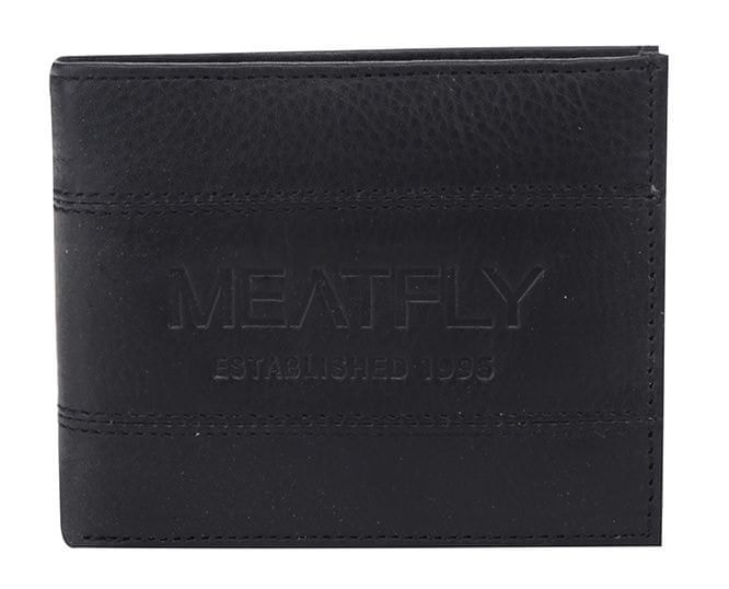 Meatfly Peněženka Hurricane Wallet A Black 9714841b87
