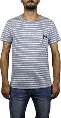 Hydroponic Pánské tričko Imperial Stripe SS Navy Stripes