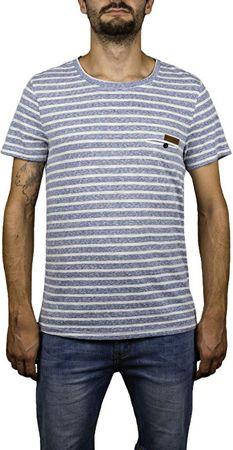 Hydroponic Pánske tričko Imperial Stripe SS Navy Stripes (Veľkosť S)