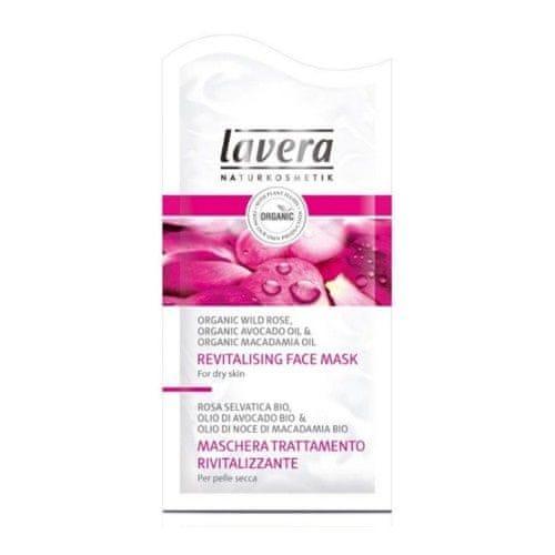 Lavera Hydratační maska Bio divoká růže pro suchou pleť (Revitalising Face Mask) (Objem 2 x 5 ml)