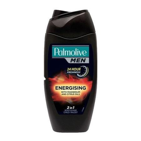 Palmolive Energetyzujący żel pod prysznic dla mężczyzn 2w1 ciała i włosów dla mężczyzn (2 w 1 Energizing Body