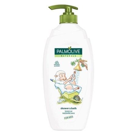 Palmolive Migdałowy żel pod prysznic dla dzieci Naturals pompa (prysznic i kąpiel dla dzieci 750 ml)