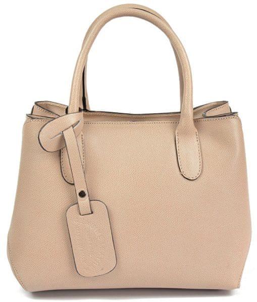 Carla Ferreri Elegantní kožená kabelka 4010 Rosa 109269ba9ee
