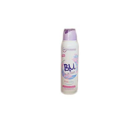B.U. In Action Pure + Dry - dezodor 150 ml