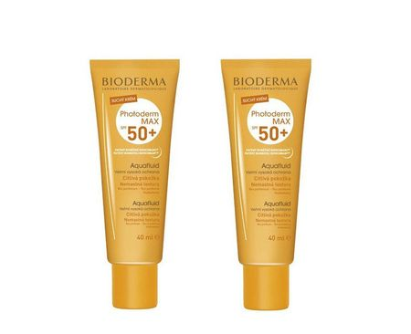 Bioderma Sada Aquafluid Photoderm MAX SPF 50+ 40 ml 1 + 1