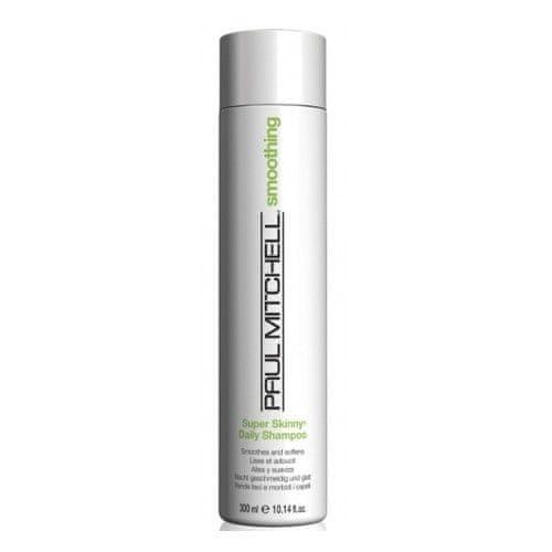 Paul Mitchell Uhlazující šampon pro nepoddajné vlasy Smoothing (Super Skinny Daily Shampoo) (Objem 300 ml)
