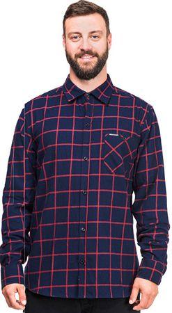 Horsefeathers Pánská košile Rashid Indigo SM877D (Velikost L)  48f0fd07df