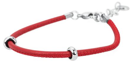 Brosway Červený kožený náramok Bracciali BBR15