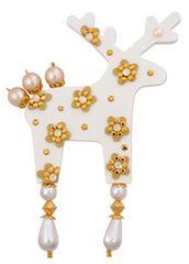 Deers Goldierinka nagy fehér szarvas