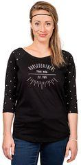 Horsefeathers Dámske tričko Togo Black SW694C