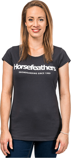 Horsefeathers Dámské triko Neva Charcoal SW692D (Velikost S)